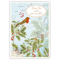 Frohes Fest - Birds - Quire- Christmascard