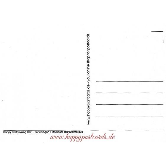 Happy Postcrossing - Memories - Postcard