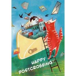 Happy Postcrossing - Erinnerungen - Postkarte