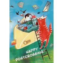 Happy Postcrossing - Memories - Postcard