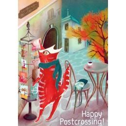Happy Postcrossing - Postkartenkauf - Postkarte