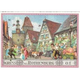 Rothenburg o.T. - Tausendschön - Postkarte