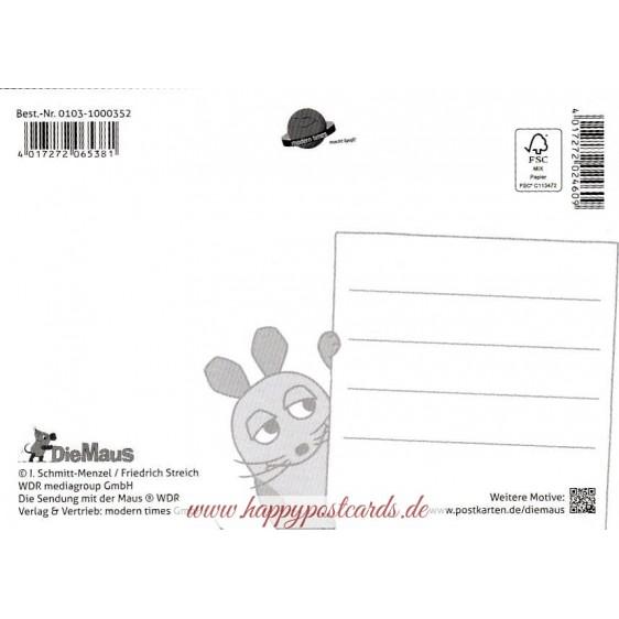 Sunset - Mouse - Postcard