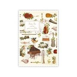 Frohes Fest - Instrumente - Quire Weihnachtskarte