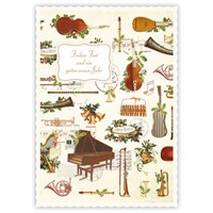 Frohes Fest - Instruments - Quire Christmascard