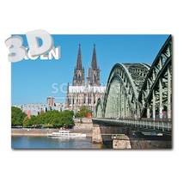 3D Köln - 3D Postkarte