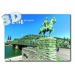 3D Cologne - Kaiser Wilhelm - 3D Postcard