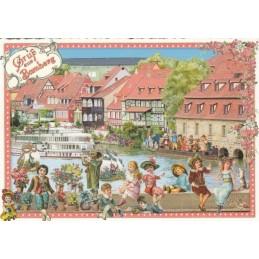 Bamberg - Tausendschön - Postkarte