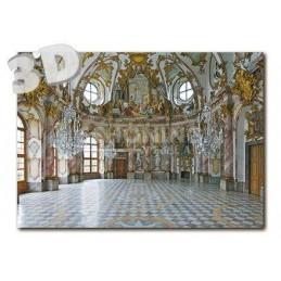 3D Würzburg - Residenz Kaisersaal - 3D Postcard