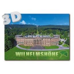 3D Kassel - Castle Wilhelmshöhe - 3D Postcard