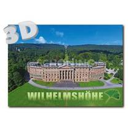 3D Kassel - Schloss Wilhelmshöhe - 3D Postkarte