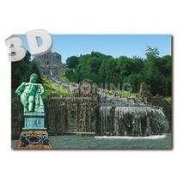 3D Kassel - Wilhelmshöhe mit Hercules - 3D Postkarte