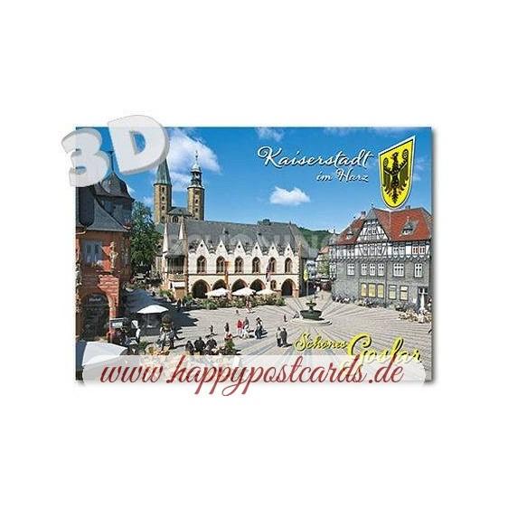 3D Goslar - 3D Postcard