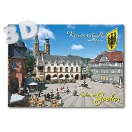 3D Goslar  -  3D Postkarte