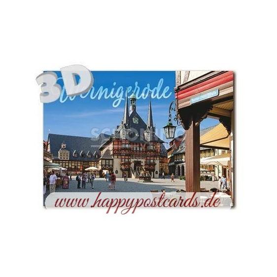 3D Wernigerode - 3D Postcard
