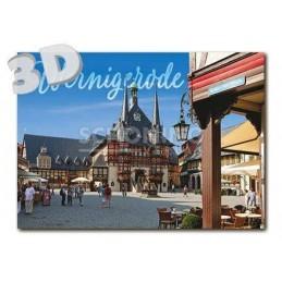 3D Wernigerode  -  3D Postkarte