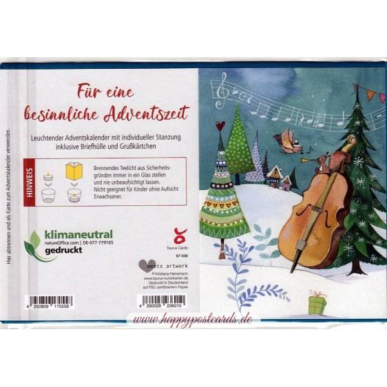 Musical Christmas - Luminous Advent calendar