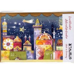 Stern über Betlehem - Leuchtender Adventskalender