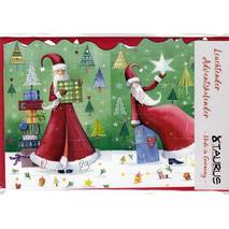 Christmaswoman - Luminous Advent calendar