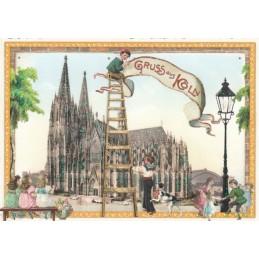 Köln - Dom - Tausendschön - Postkarte