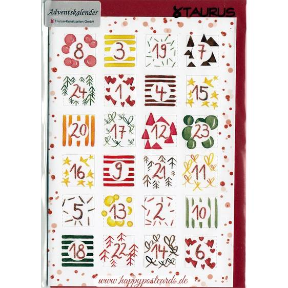 Pattern - Advent calendar