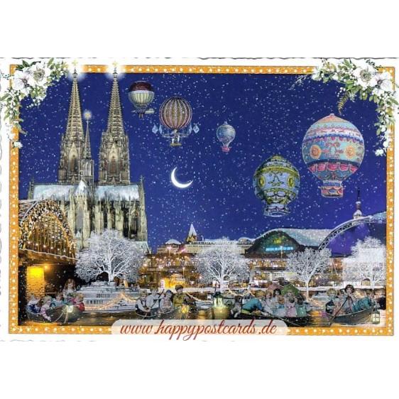 Cologne - Christmas - Tausendschön - Postcard