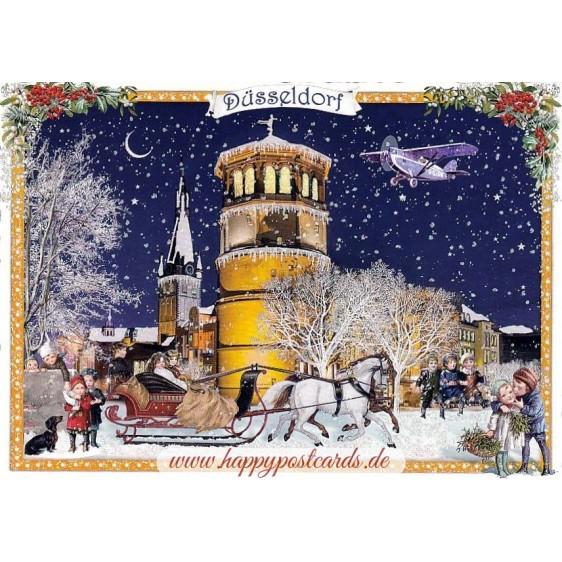 Duesseldorf - Christmas - Tausendschön - Postcard