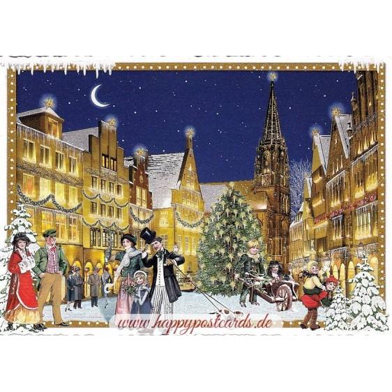Münster - Weihnachten - Tausendschön - Weihnachtskarte