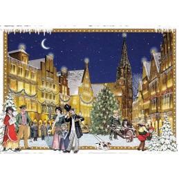 Muenster - Christmas - Tausendschön - Postcard
