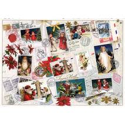 Christmas stamps 2 - Tausendschön - Postcard