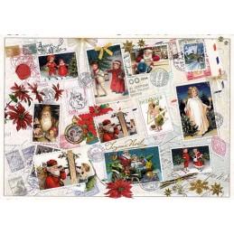 Weihnachtsmarken 2 - Tausendschön - Weihnachtskarte