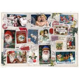 Weihnachtsmarken 3 - Tausendschön - Weihnachtskarte