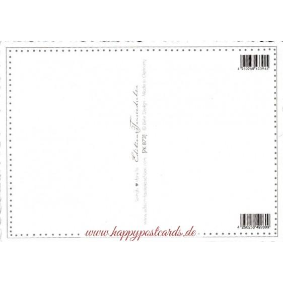 Christmas stamps 3 - Tausendschön - Postcard