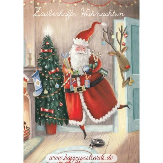 Zauberhafte Weihnachten - Christmas - Postcard