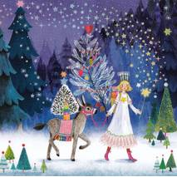 Engel mit Esel - Mila Marquis Postkarte