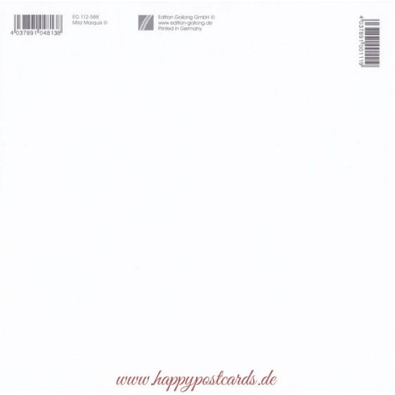 Angel with Donkey - Mila Marquis Postcard