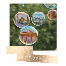 Deutschland - Seifenblasen - German Memories - Postkarte
