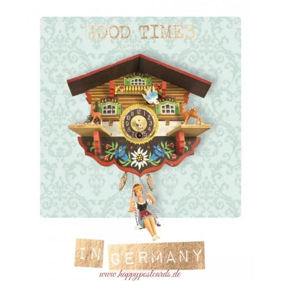 Good Times in Germany - German Memories - Postkarte