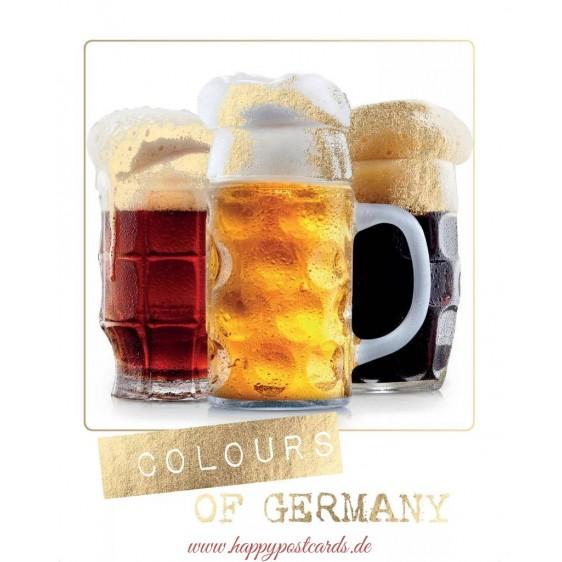 Colours of Germany - German Memories Postcard
