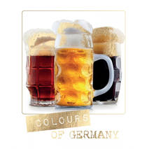 Colours of Germany - German Memories - Postkarte