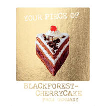 Blackforest Cherrycake - German Memories - Postkarte