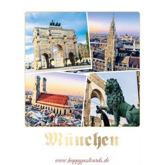 Munich - German Memories Postcard