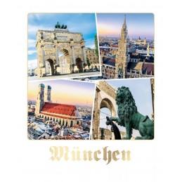 München - Happy Memories - Postkarte