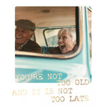 You're not too old - Travel Memories - Postkarte