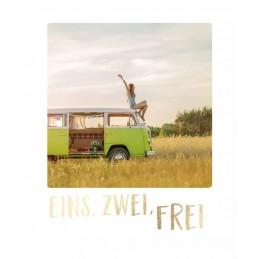 Eins, zwei, frei - Travel Memories - Postkarte