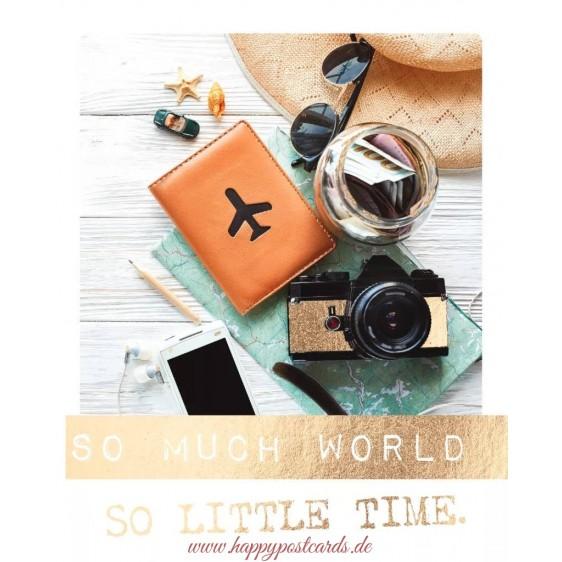 So much world - Travel Memories Postcard
