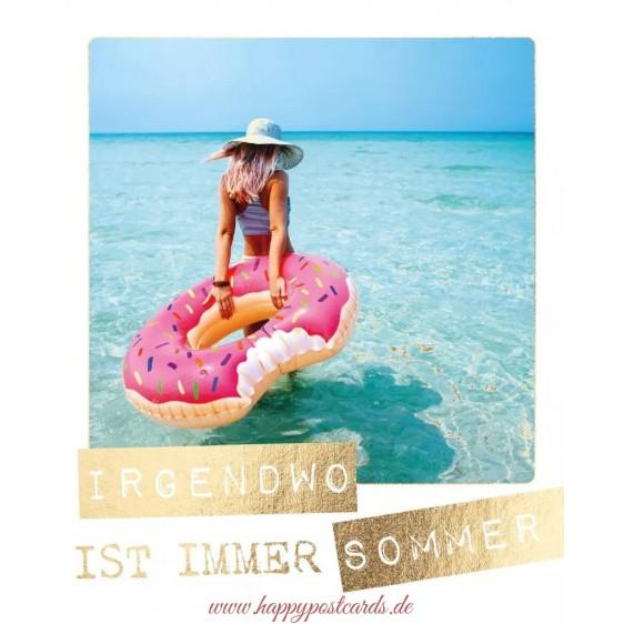 Irgendwo ist immer Sommer - Travel Memories Postcard