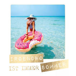 Irgendwo ist immer Sommer - Travel Memories - Postkarte