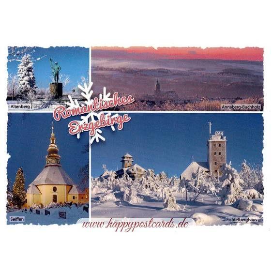 Romantic Erzgebirge - Viewcard