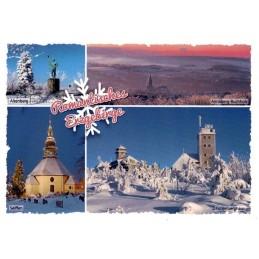 Romantisches Erzgebirge - Ansichtskarte